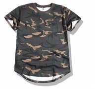 Wholesale Men t shirt camouflage t shirt short sleeve t shirt male personality round neck t shirt