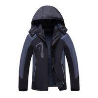 Wholesale Men s Hiking Jackets Waterproof Windproof Windbreaker Fashion Brand Fleece Jacket Outdoor Sport Jacket Coat Men Women Climbers Jersey