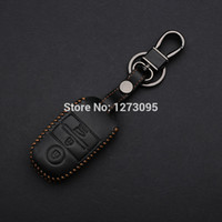 accessories kia forte - 2014 Kia K3 Hand stitched Leather Car Key Cover Hand Sewing Case Bag Wallet Keychain Accessories