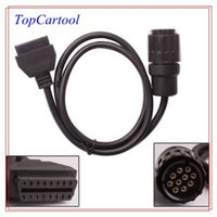 Wholesale Topcartool OBDDIY ICOM Pin Connector OBD2 Cable for BMWcar diagnostic connector ICOM Pin to Pin OBD2 adapter for BMW ICOM