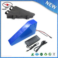bicycle lithium - free shiping V AH Lithium Battery Electric Bicycle Scooter V W Battery Lithium ion ebike battery pack For Samsung cell