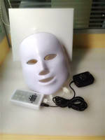 Wholesale LED PDT Bio light Skin Therapy Facial Care Mask Device Seven Colors
