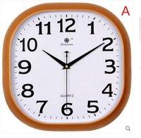 Wholesale Sitting room wall clock creative brief quartz clock the sitting room quiet clock