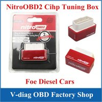 Wholesale NitroOBD2 Interface More Power More Torque Plug And Drive Nitro OBD For Diesel Cars OBD ii Chip Tuning Box High Performence