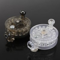 Wholesale The new plastic ice fishing reel wheel wheel factory direct valve rod