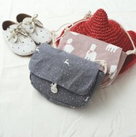 animal print satchel - 2016 new arrival children shoulder bags cartoon Bags Satchel cute girls cotton material bags colors