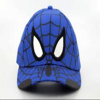 batman factory - Spider Man snapback hats hat baseball teams sports caps mix order drop shipping professional Caps Factory Superman Batman hats