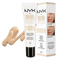 Wholesale NYX BB Cream beauty balm baume beaute brightens smoothes moisturizes oil free Mineral Enriched ml makeup bb