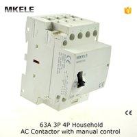 Wholesale MKWCT M Manually Operated Din Rail P A Modular Household Contactor no Contator Kontaktor