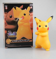 Wholesale 2016 New Poke a large doll Pikachu The Third version of the cool version of large clay Set model Z twist
