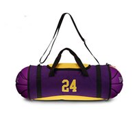 Wholesale 25L basketball bags High Quality Lakers Bags Sports Bags Mens Duffle Bag Travel Mochila Gym Bolso Gimnasio