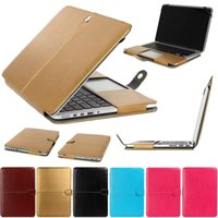 Wholesale PU Leather Laptop Sleeve Bag Case Cover for MacBook Air Pro Retina