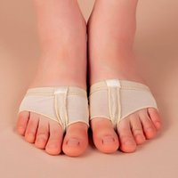Wholesale 1Pair Footful Foot Thong Toe Undies Ballet Dance Paws Metatarsal Forefoot Half Lyrical Ballet