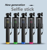 android one piece - The minimum order is one piece of the new generation handheld portable wired selfie stick for ios and and android Retail Package