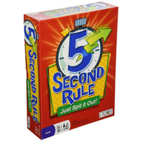Wholesale In business HOT NEW GAME Second Rule board game SECOND RULE table game Just Spit it Out card game