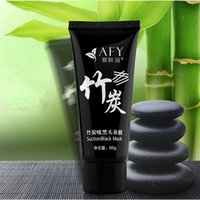 bamboo skin - Bamboo Charcoal Blackhead Mask Nose Pores Blackhead Pore Oil control Repairing Face Mask For Skin Care