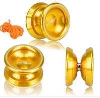 Wholesale Best Selling Professional Magic YOYO Ball T8 Shadow Aluminum Alloy Kids Toys Gift Golden T8 Children kid favorite mixed color YOYO toys