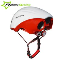 Wholesale RockBros Aero Cycling Helmet Road Bike Women Men Cycling Ridig Bicycle EPS Breathable Helmets mm