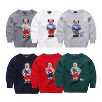 Wholesale 2 T age baby boy cartoon sweater male child Fall sweater