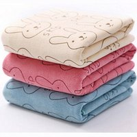 Wholesale Soft Cotton x50cm Microfiber Towel Baby Kids Beach Towel Bathing Swimming Absorbent Drying Cute