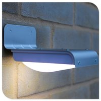 Wholesale Upgraded LED Solar Motion Sensor Light Outdoor Waterproof Security Detection LED Night Light Spotlight for Patio Garden Fence Pathway