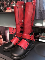 Wholesale NEW ARRIVAL X men Deadpool Cosplay Shoes Superhero Custom For Helloween Accessories Boots for Deadpol