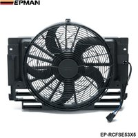 bmw parts - EPMAN A C AC Radiator Condenser Cooling Fan Brushless Motor For BMW X5 Blade EP RCFSE53X5