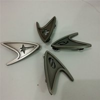 Wholesale Star Trek Badge Pin Medical Cross Insignia Badge Starfleet Command Division Engineering Badge Brooches Pin Prop Set