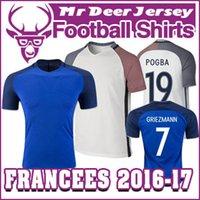 Wholesale 2016 Francees POGBA home away GRIEZMANN