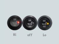 Wholesale 2 seat installed round mm diameter switch seater heater universal fiber carbon auto seat heating element heater fiber