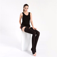 Wholesale Fashion and Sexy Women s Long Open Toe Compression Socks That Burn Fat Anti Varicose Leg Warmers and Stovepipe Socks