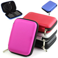 """Nouveautés 2.5 """"Bag Organizer Disque dur externe Carry Case Cover main Pouch Protect externe WD HDD BX170Free Expédition"""