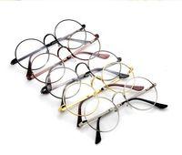 Or gros cadres lunettes France-5 couleurs Harry Potter Lunettes rondes Montures Halloween Cosplay Noir Or Argent uni Miroir Mode Lunettes gros