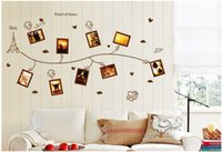beautiful nature photos - New Arrivals Romantic beautiful Removable Photo Frames Wall Stickers DIY Wall Decals Murals Home Decoration