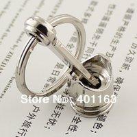 automotive piston rings - Hot Sale Piston Keychain Creative Accessories Auto Part Model Automotive Keyring Key Chain Ring Key Rings Keyfob