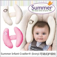 Wholesale High Quality Summer Infant Cradler Baby Toddler Safty Neck Head Protection Adjustable Travel Sleeping Pad Baby Car Seat Pillow