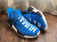 autumn women shoes - Supply Original NMD HUMAN RACE Pharrell Williams NMD Runner Shoes man women Summer Autumn Sneakers running shoes With Box