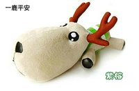 Wholesale Hot Sale Christmas Best Gift Lucky Santa deer Plush Toys amp Stuffed Toys Cute Kawaii Dolls