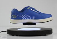 Wholesale 1 DHL New Invention Magnetic Levitation Shoe Display Stand magnetic levitron display racks