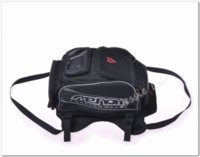 Wholesale Genuine MENAT Black Oil Fuel Tank Bag Magnetic Motorcycle Motorbike back seat bag can put the helmet saddle bag MB