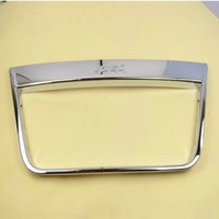 Wholesale Chrome Front Grille Around cover trims For Ford Kuga Escape high quality chrome stickers trim car styling
