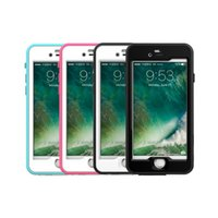 apple ip phone - 100 Underwater Full Cover Phone Case IP Certified Shockproof Phone Cover for Iphone Iphone Samsung S7 S6 S7 Edge Retail package