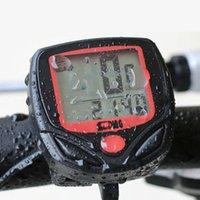 Wholesale 1Set Waterproof Auto ON OFF Odometer Bike Meter Speedometer Digital LCD Bicycle Computer Clock Stopwatch Kit