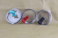 Wholesale 500pcs New Leakproof YETI Cup Colors Transparent Lids for oz Stainless Steel Yeti Tumbler Rambler Yeti Colster Rambler Yeti Splash