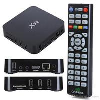 Wholesale MX Smart TV BOX Android Dual Core KODI Midnight G G Cortex A9 Build in WiFi MX Android TV Box