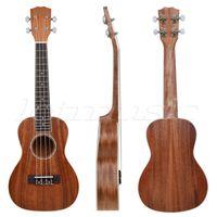 abalone guitar rosette - Laminated Mahogany Top Tenor Ukulele inch Hawaii Guitar Abalone Soundhole Rosette Matt
