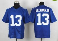 Wholesale Cheap New product Elite Odell BECKHAM JR Victor Cruz Eli Manning football Giants jerseys White Blue High Quality Embroidery