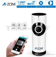 Wholesale Authentic A ZONE P Mini wireless cameras IR Camera Security Surveillance IP cameras WiFi Video with Baby Care Monitor Security Camera