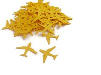 airplane party decor - cheap pc airplane Circle Confetti Party Decoration Table Decor Paper Confetti glitter confettis Event Party Supplies baby shower