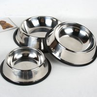 Wholesale Stainless Steel Spaniel Non Slip Water Food Bowl Springer Dog Long Ears
